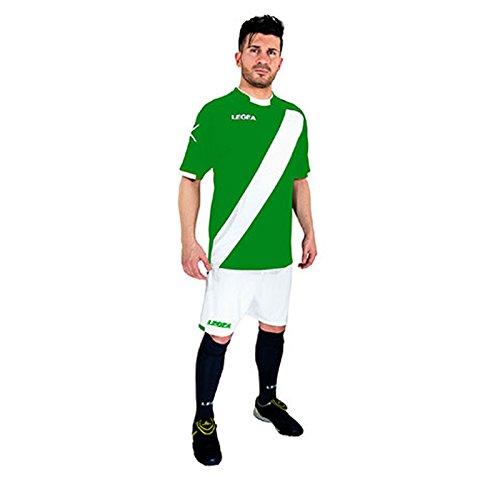Legea Lima Herren-Trikot und Shorts M grün/weiß