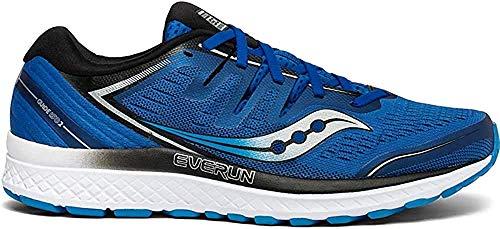 Saucony Men's Guide ISO 2 Running Shoe, Blue, 9.5 M US