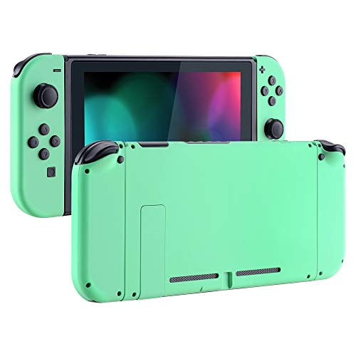 eXtremeRate Soft Touch Grip Back Plate for Nintendo Switch Console, NS...