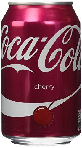 Coca Cola UK Cherry, 24er Pack, EINWEG (24 x 330 ml)