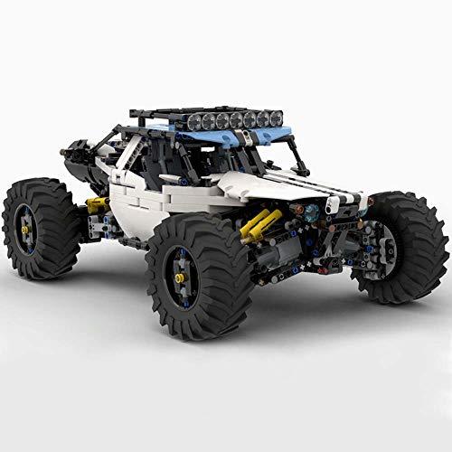 WYY Technic 4WD RC Buggy Bloques De Construcción De Juguete Kit, Ladrillos De Construcción (Moc 1900 + PCS), La Educación De Bricolaje Niños Regalo De Cumpleaños,No Motor
