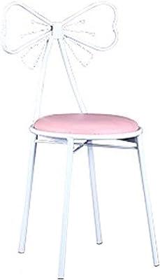 Amazon.com: Taburete de maquillaje de lujo, silla de jardín ...