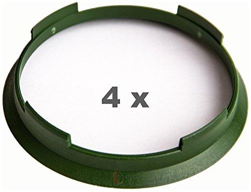 4 x pneugo! Bagues de centrage pour jantes alu 70.4 mm - 67.1 mm