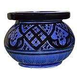 セラミック灰皿 ハンドメイド モロッコ 無煙 セラミック ビビッドカラー ミディアム