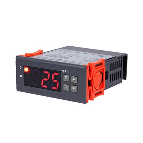 UKCOCO Digitale Luftfeuchtigkeitsregler 1% RH - 99% RH Hygrostat Humidistat AC 220 V Sensor für Luftbefeuchter Luftentfeuchter
