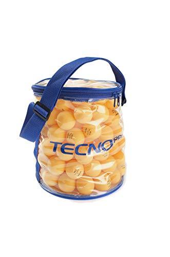 TECNO PRO bola envase - 144 naranja 1* PELOTAS DE TENIS DE MESA