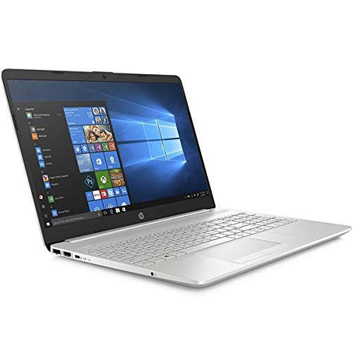 HP 15-dw2023nl Laptop, Silver, Intel Core i7-1065G7, 8GB RAM, 512GB SSD, 15.6' 1920x1080 FHD, 2GB NVIDIA Geforce MX330, HP 1 YR WTY, Italian Keyboard + EuroPC Warranty Assist, (Renewed)