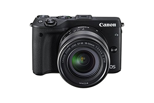 Canon EOS M3 Mirrorless Camera Kit