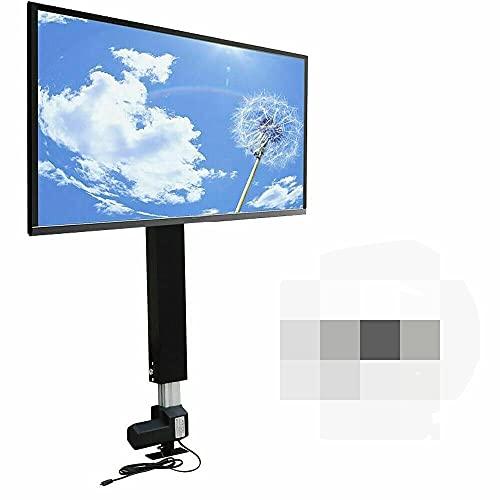 Soporte motorizado ascensor para monitor Plasma TV LCD Carrera 700 mm Eléctrico Soporte de elevación de TV con mando a distancia para mueble TV 26' - 57' Soporte universal para TV