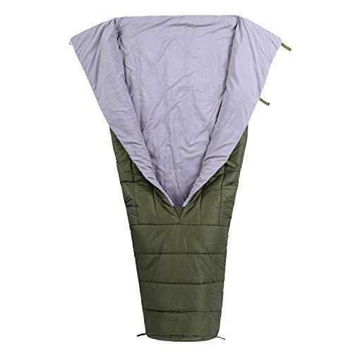 OneTigris FEATHERLITE Ultralight Sleeping Quilt, 1000g, Black Orca Series (OD Green)