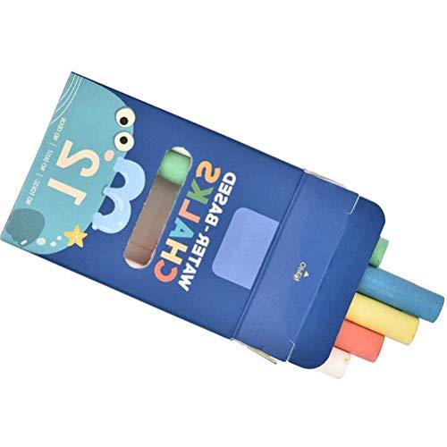 Stofloos krijt, niet-giftig krijt, verschillende kleuren krijt, geweldige spel activiteit voor kinderen, kunst docent kantoor klas winkel huis (12Stks/doos) B