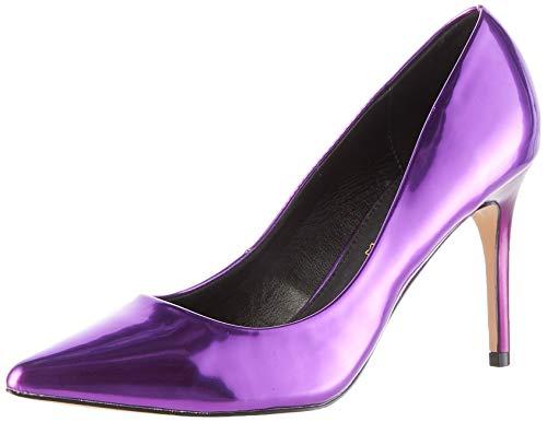 Buffalo Damen Fanny Pumps, Violett (Dark Purple 001), 38 EU