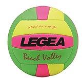 Legea Balón Beach Volley Wall Voleibol Entrenamiento Balls Line Partite Beach Torneo Sport Amarillo Fluo-Fuxia Fluo-Verde Fluo