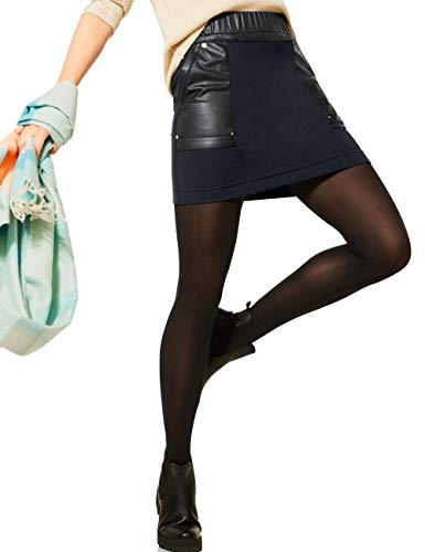 Street One Happy Falda, Azul Oscuro, 44 para Mujer