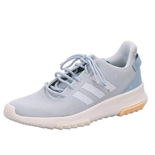 adidas Performance Racer Sneaker Damen grau/hellblau, 4.5 UK - 37 1/3 EU - 6 US