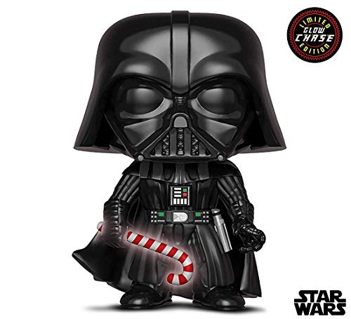 Funko Pop Star Wars: Holiday Darth Vader Chase with Candy Cane Collectible Figure