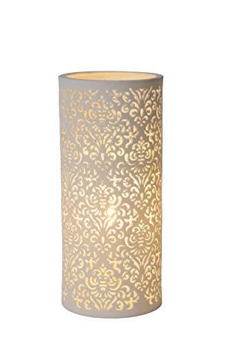 Lucide 13511/01/31 E14 40W LED A++ Blanco lámpara de mesa - Lámparas de mesa (Blanco, Salón, Clásico, IP20, II, E14)