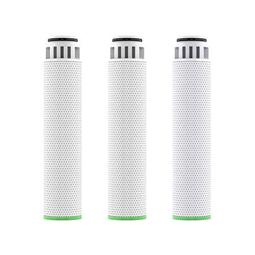 Rainsworth Ersatzfilterpatrone für Filter Duschkopf, erweicht hartes Wasser, entfernt Chlor und Fluorid, 3 Stück in 1 Packung