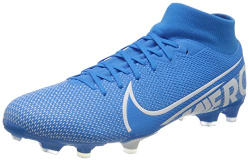 Nike Superfly 7 Academy Fg/MG, Scarpe da Calcio Unisex-Adulto, Multicolore (Blue Hero/White/Obsidian 414), 43 EU