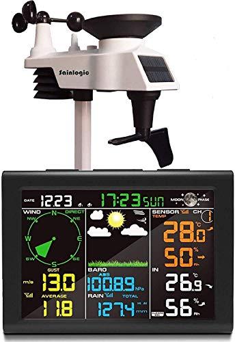 sainlogic FT0835 - Estación meteorológica, Color Negro