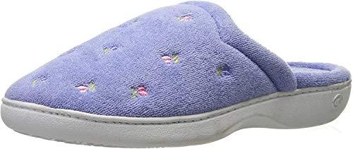 Women's Terry Slip on Clog Slipper with Memory Foam for Indoor/Outdoor Comfort