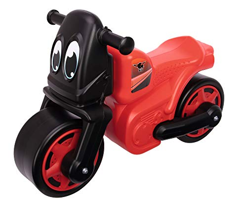 BIG-Racing-Bike Red - Kinder-Laufrad mit breiten Reifen, robust, hohe...