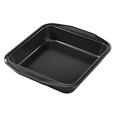 Baker's Secret 1107173 Signature Square Cake Pan, 8-Inch