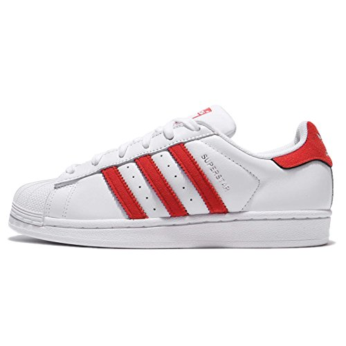 Adidas superstar femme rouges