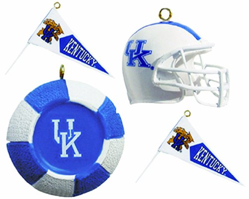 Champion NCAA Kentucky Wildcats Four-Pack Sports Ornaments