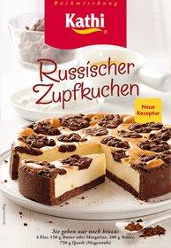 Kathi Backmischung Russischer Zupfkuchen Ostprodukt 700g
