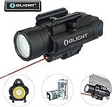 OLIGHT Baldr RL Lampe Pistolet Pour Airsoft Lampe Arme Puissante Sortie Max 1120 lumens Distance 240 mètres Installation Facile, Noir