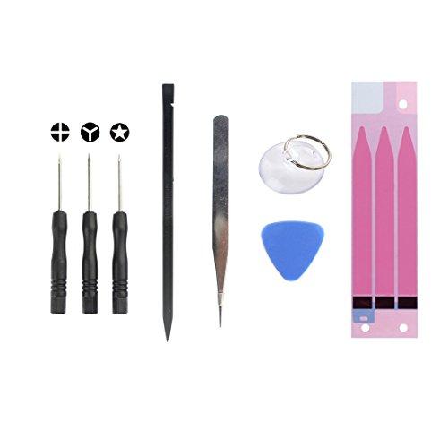 Schroevendraaier 8 in 1 accu-reparatie gereedschapsset voor iPhone 6 Plus openen reparatie demontage gereedschap voor smartphone
