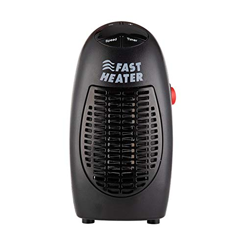 Kaxofang 400W Calentador de Ventilador Calentador EléCtrico Montado en la Pared Estufa Radiador Calentador de la Sala del Hogar MáQuina de Ventilador para el Invierno Enchufe de la EU