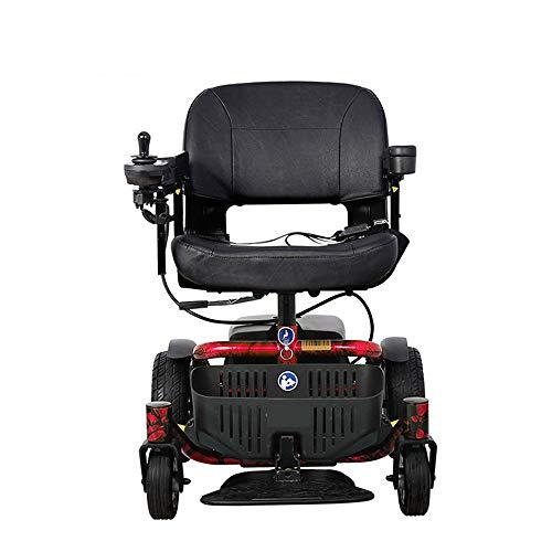 QBYLYF Rollator Transportstuhl Rollstuhl Elektro-Rollstuhl Automatische, Intelligente Pflege Lay Wohnung Rollstuhl Bed Old Man Behinderte, Scooter