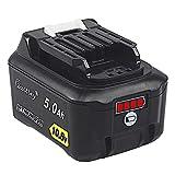 Waitley マキタ BL1015 10.8V 互換 バッテリー 5.0Ah BL1015 BL1050 BL1060 対応 リチウムイオンバッテリ互換電池 電動工具電池 残量指示付き