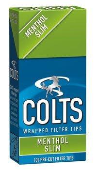 [colts] コルツ スリム メンソール フィルター 102個入りx5パック 手巻きタバコ