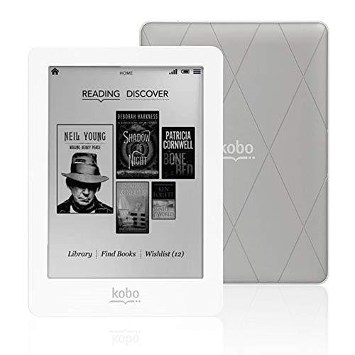 KOBO GLO eReader Lector de Libros Electrónicos KOBO Plata/Blanc