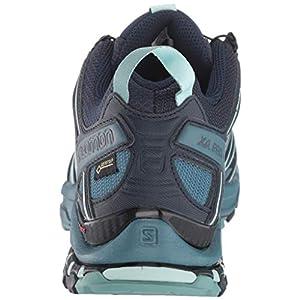 Salomon Women's XA Pro 3D GORE-TEX Trail Running Shoes, Navy Blazer/Mallard Blue/Trellis, 7.5 US
