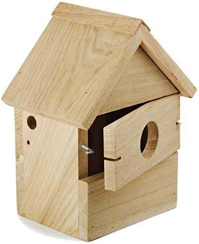 NEST TO NEST Bird Box I Multi Bird House I Bird Nesting Box From Oak Wood I Bird House For Garden I Bird Nest, Premium Quality