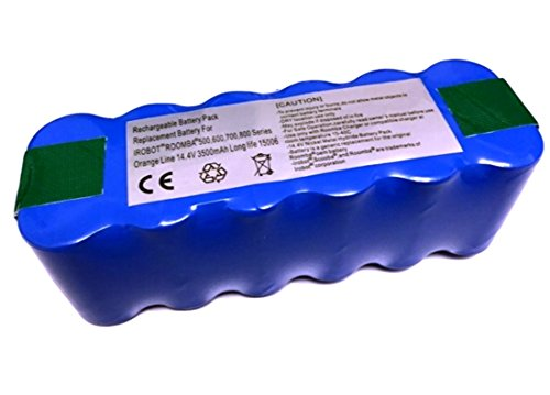 ルンバ用バッテリー 2倍長寿命 稼働時間1.7倍 日本企業による1年保証 ルンバ500 600 700 800 900シリーズ対...