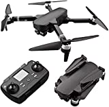 rzoizwko Drone, 2 km Drones Flight 28 Min Professional Drones con 6K HD Cámara cardán mecánica de Dos Ejes 5G WiFi FPV RC Motor sin escobillas Quadrotor Helicóptero, 3 baterías