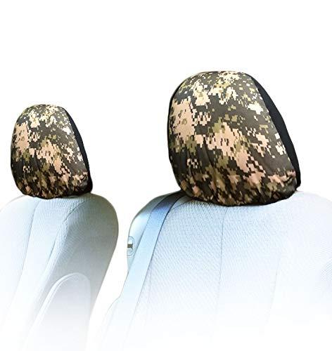 monogram headrest covers - 7