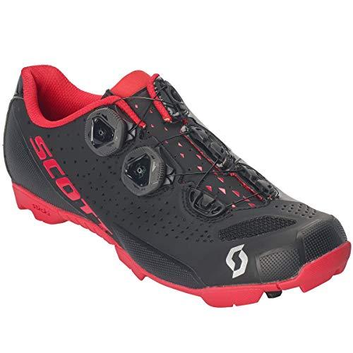 Scott MTB RC 2019 - Zapatillas de Ciclismo para Mujer, Color Negro y Rojo, 36