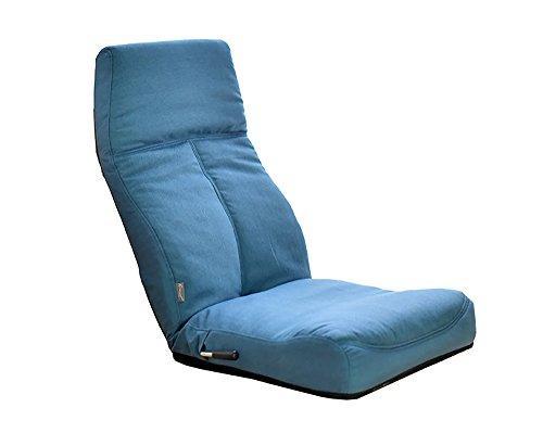 urban D.D Lazy Plegable sofá Creativo Taburete Respaldo balcón salón Regular Azul