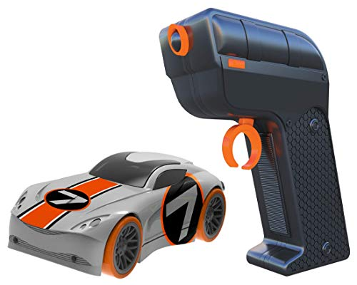 Tracer Racers Second Generation 2.4 GHz R/C High Speed Radio Control 1:64 Scale Race Add-on Car - Orange