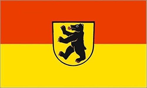 U24 Motorradflagge Bernau im Schwarzwald Fahne Flagge 20 x 30 cm