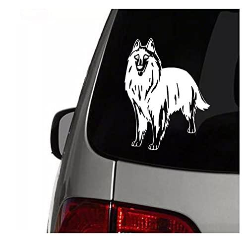 Automóviles Pegatinas 2Pcs 22X18 Cm Love My Golden Retriever Perro Mascota Coche Pegatina Decoración De Moda PVC Impermeable Protector Solar Calcomanía Negro Blanco Rojo Plata