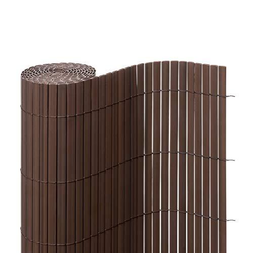 Ventanara Insynsskyddsmatta PVC, insynsskyddsstaket, insynsskydd, vindskydd, för trädgård, balkong, terrass