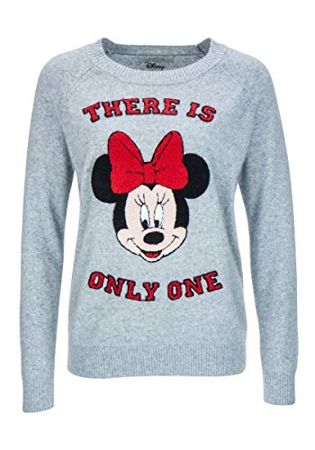 Pullover - Sweater - Minnie - Mouse - Disney - grau - 897905 (42)