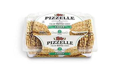 Pizzelles Snack Cookies